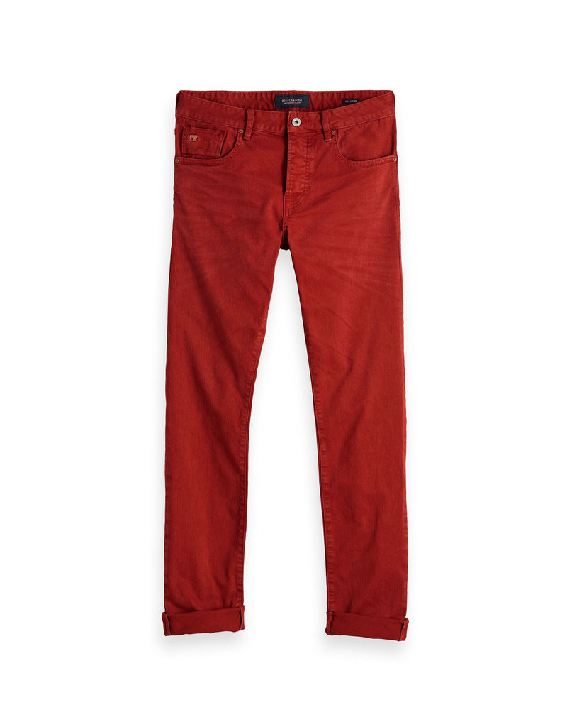 Scotch & Soda Ralston Jean Garment Dyed | Mountain Rust