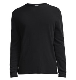 No Nationality Clive Long Sleeve Smart Tee | Black