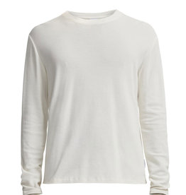 No Nationality Clive Long Sleeve Smart Tee | White