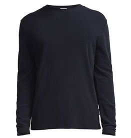 No Nationality Clive Long Sleeve Smart Tee | Midnight Blue