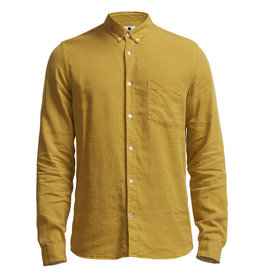No Nationality Sixteen Oxford Linen | Olive Oil