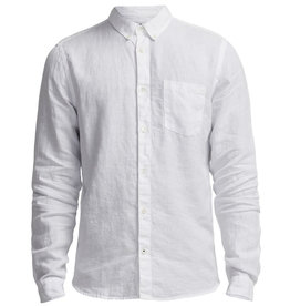 No Nationality New Derek Linen Shirt | White
