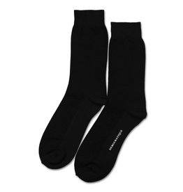 Democratique Champagne Pique Socks | Black