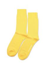 Democratique Champagne Pique Socks | Dominant Yellow