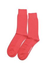 Democratique Champagne Pique Socks | Spring Red