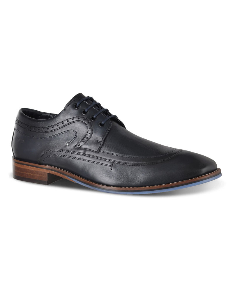 Ferracini Immanuel Dress Shoe | Veg Lux Navy