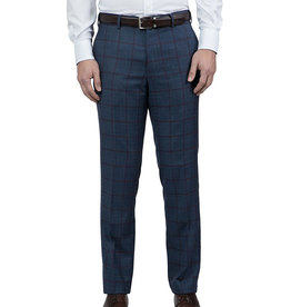 Cambridge Hawkesbury Trouser  | Navy Check FC1374