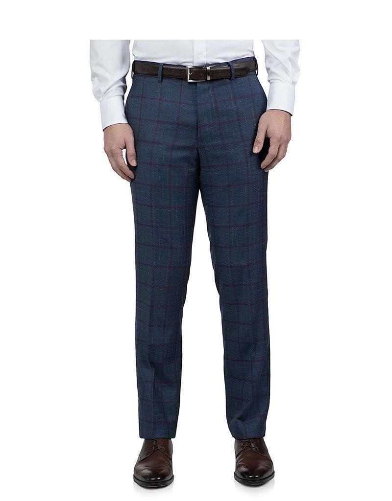 Cambridge Hawkesbury Trouser  | Navy Check FC1374