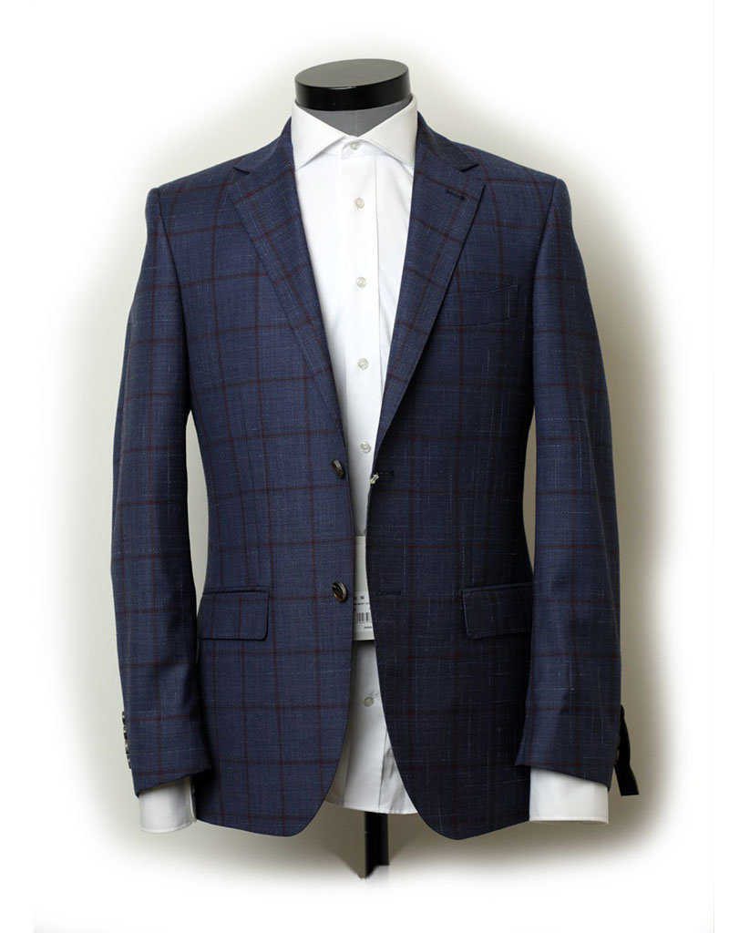 Cambridge Hawkesbury Jacket PCEI0012C1  | Navy Check FCI374