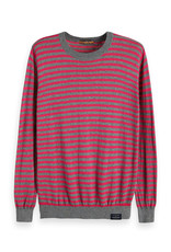 Scotch & Soda Classic Nep Quality Crewneck | Pink
