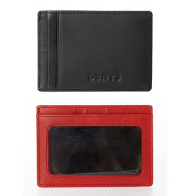 Dents Credit Card Holder | Berry / Black