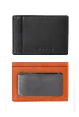 Dents Credit Card Holder   High Tan / Black