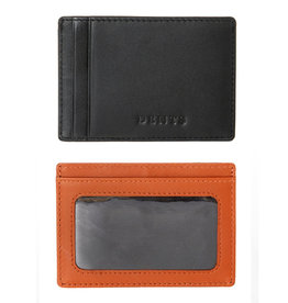 Dents Credit Card Holder | High Tan / Black