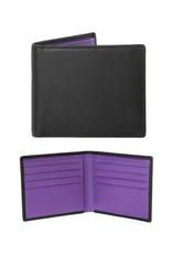 Dents Billfold Wallet | Amethyst / Black