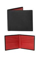 Dents Billfold Wallet | Berry / Black