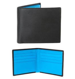 Dents Billfold Wallet | Turquoise / Black
