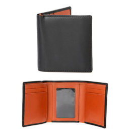 Dents Trifold Wallet | High Tan / Black