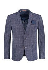 A Fish Named Fred Sports Jacket / Messy Check | Navy