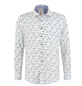 A Fish Named Fred African Birds Printed Shirt
