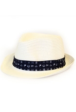 A Fish Named Fred Hat | White Tribal