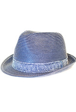 A Fish Named Fred Hat | Navy Paper Tribal