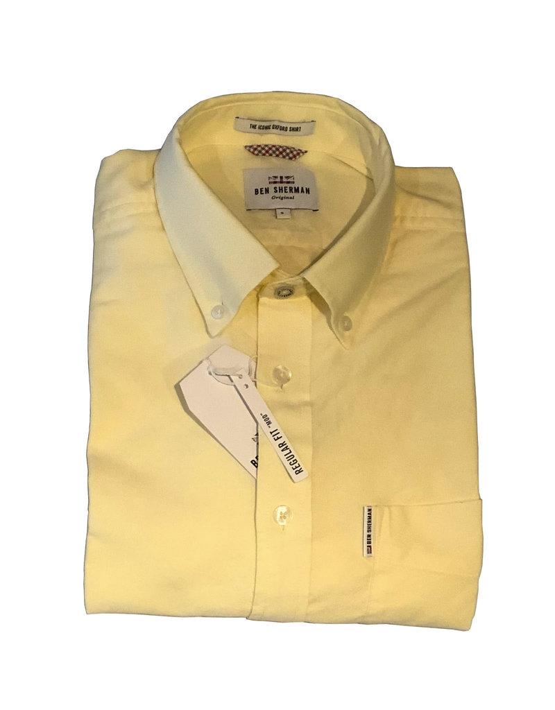 Ben Sherman Oxford Shirt | Yellow