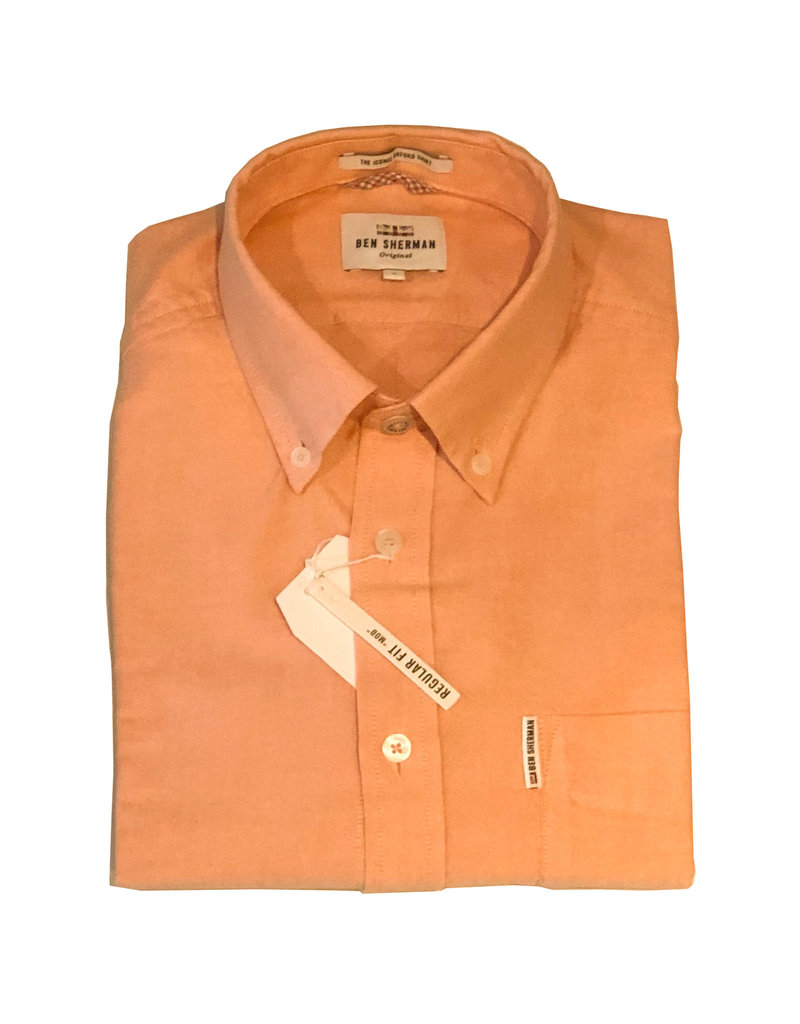 Ben Sherman Oxford Shirt | Orange