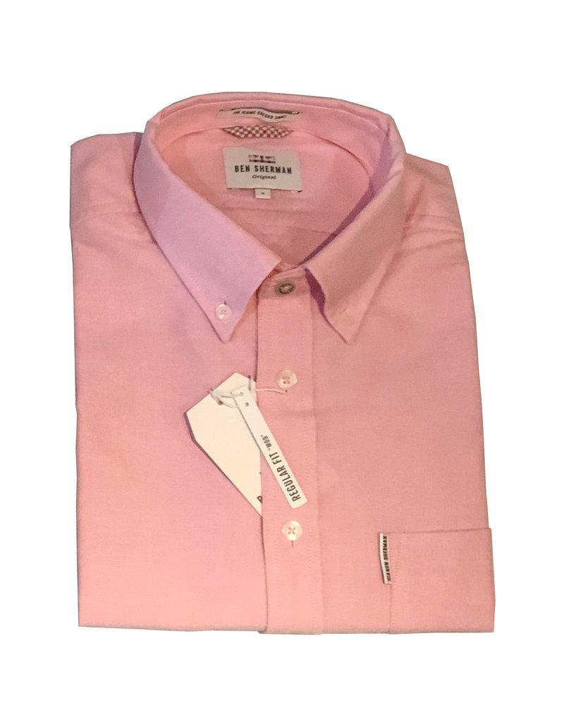 Ben Sherman Oxford Shirt | Pink