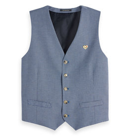 Scotch & Soda Yarn Dyed Vest