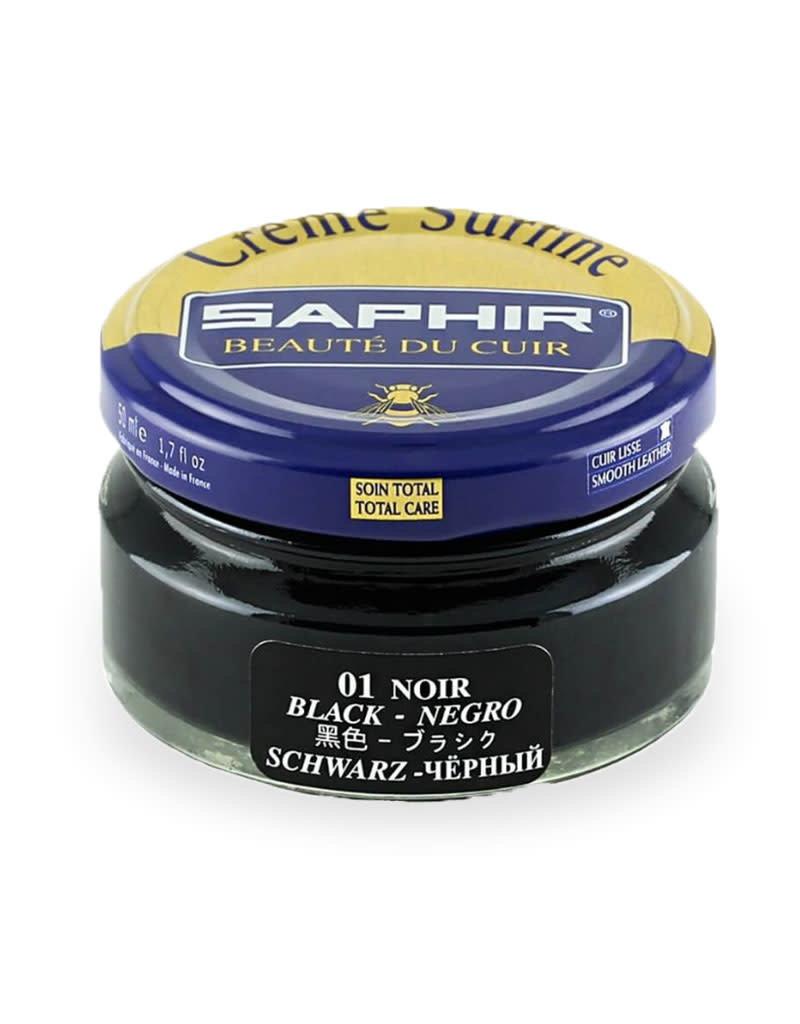 Saphir Saphir Shoe Creme   01 Black