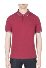 Ben Sherman Romford Polo Shirt | Red MC11485D87