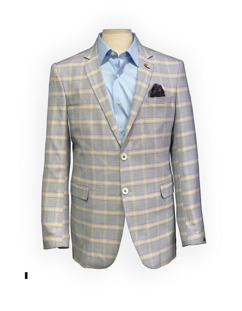 Thomson & Richards Blue Pineapple Check Sports Jacket