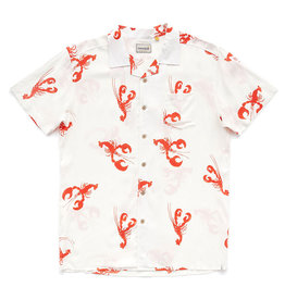 Critical Slide Society Cosmo Short Sleeved Shirt | White