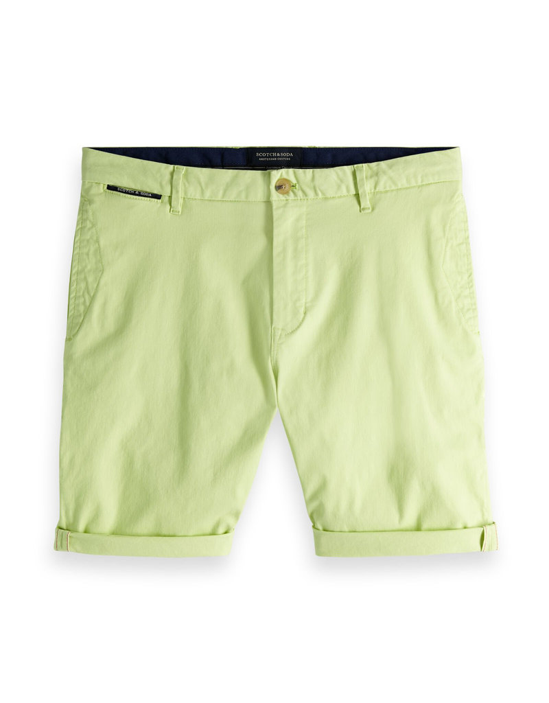Scotch & Soda Chino Shorts | Bright Green