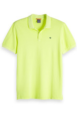 Scotch & Soda Classic Garment Dyed Polo | Bright Green