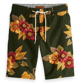 Scotch & Soda Printed Chino Short