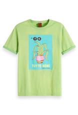 Scotch & Soda Washed Rocker Tee Shirt