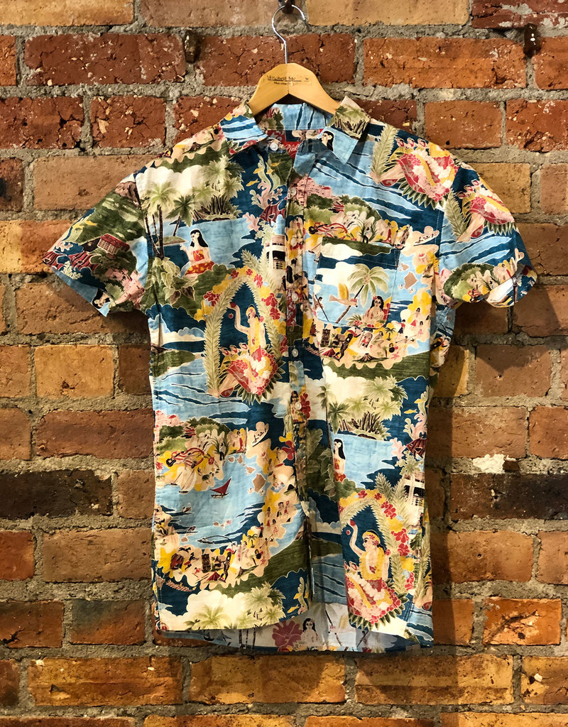 Phillips Quintessential Hawaiian Short Sleeve Shirt