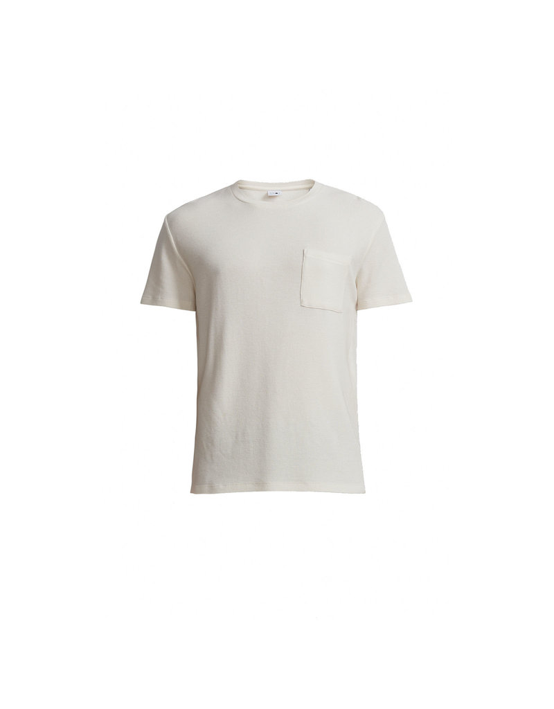 No Nationality Clive Tee | Egg White