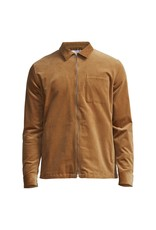 No Nationality Zip Corduroy Shirt | Brown