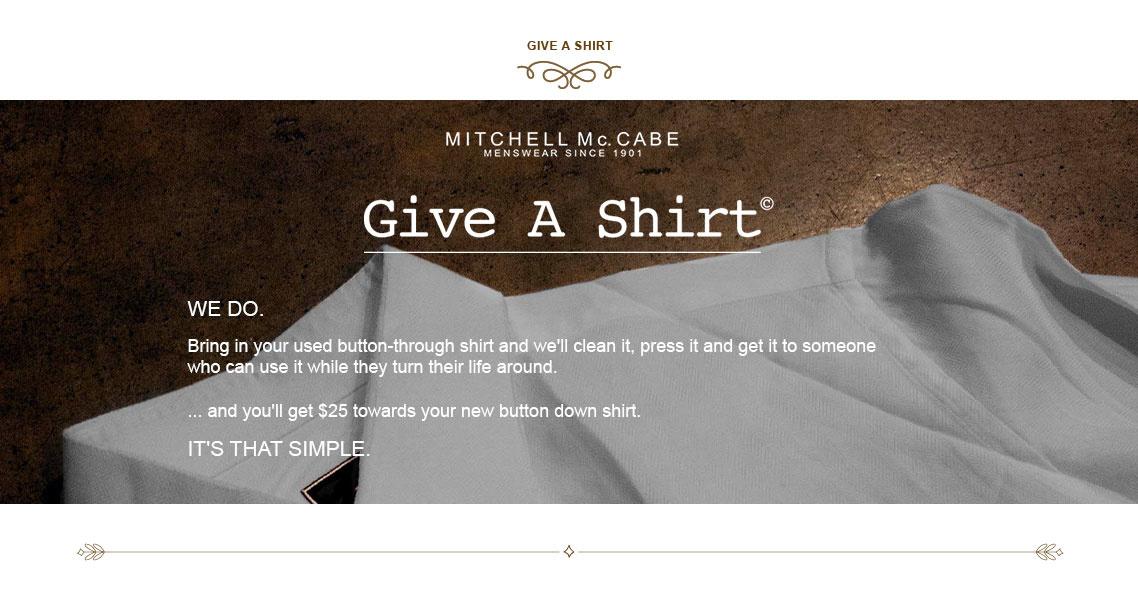 Give A Shirt