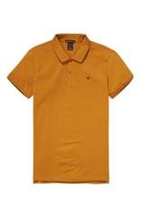 Scotch & Soda Garment Dyed Polo In Cotton Pique | Nutmeg 139763-0500