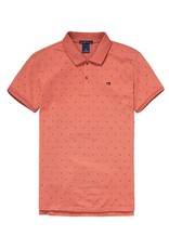 Scotch & Soda Garment Died Polo In Cotton Pique | 139763