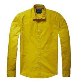 Scotch & Soda Poplin Shirt | Jagar Yellow 136291-1135