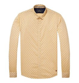 Scotch & Soda Oxford Shirt  | Yellow 139555-0217