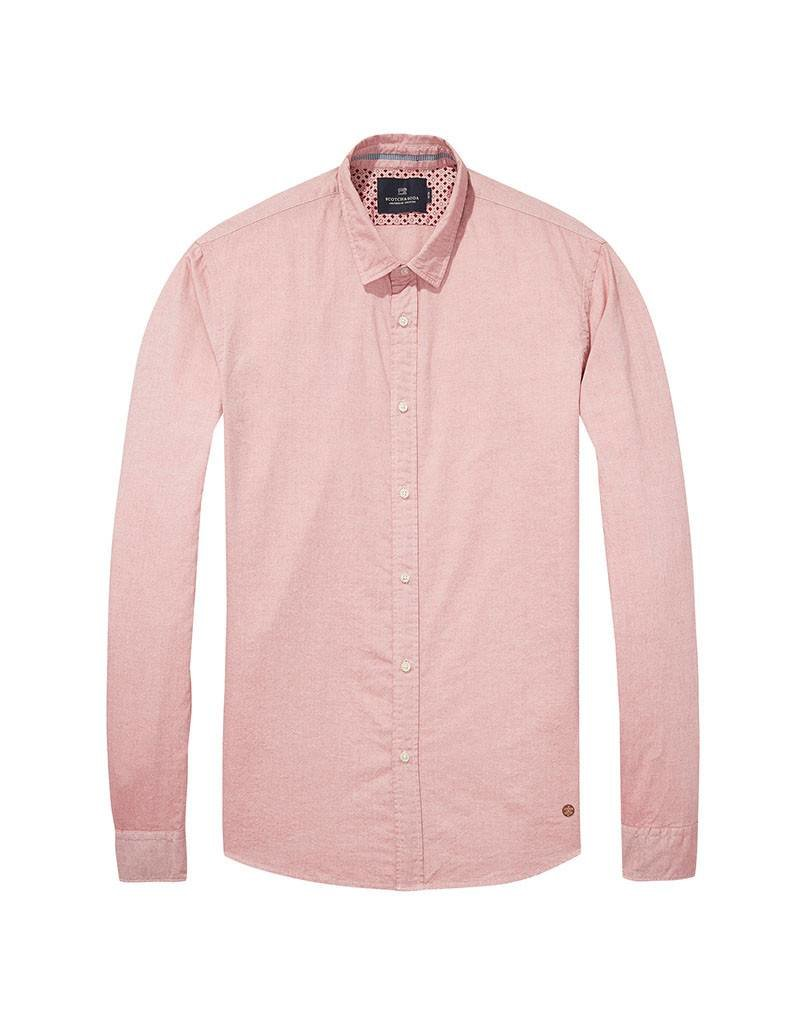 Scotch & Soda Oxford Shirt  | Pink 139555-1130