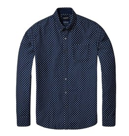 Scotch & Soda Slim Fit All Over Printed Shirt  | 137699-0018