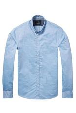 Scotch & Soda Poplin Shirt    Light Blue 136322-0214