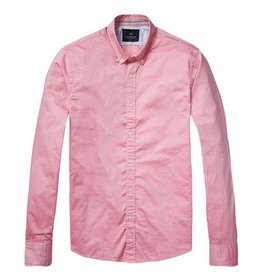 Scotch & Soda Poplin Shirt  | Pink 136322-1131