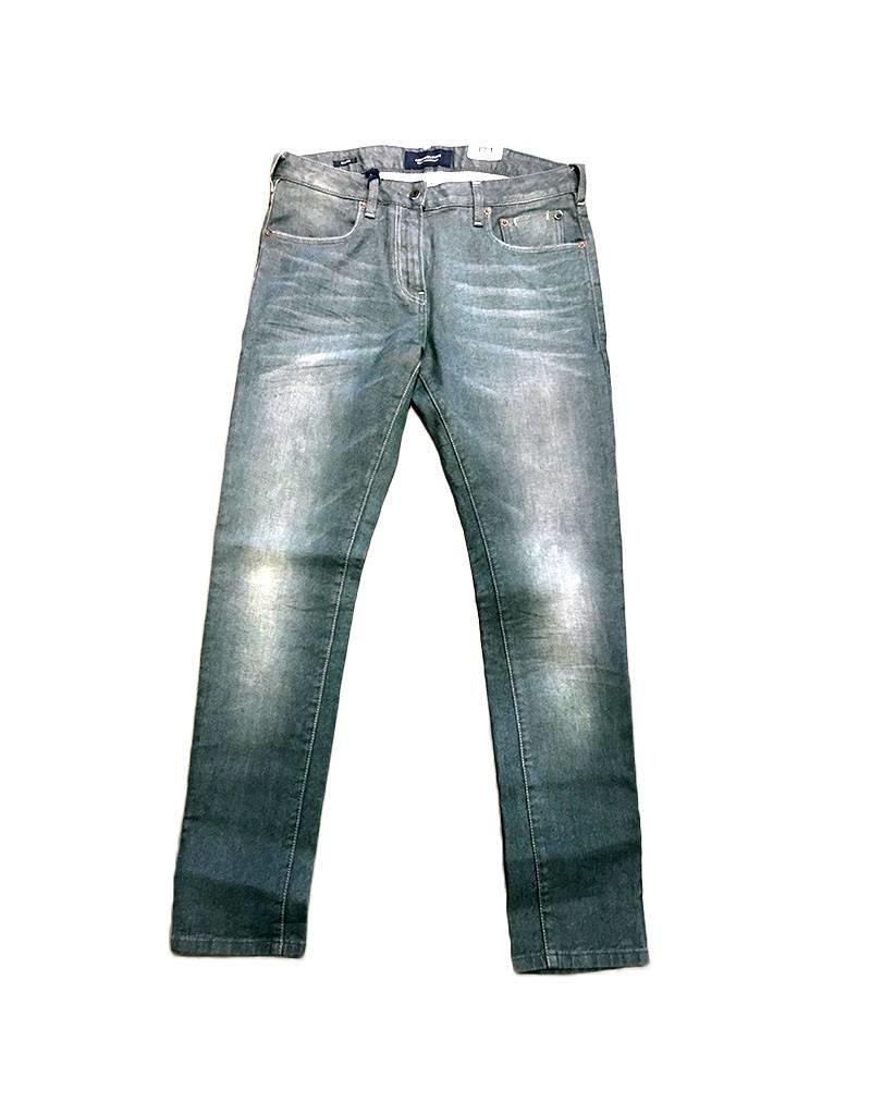 Scotch & Soda Skim Jean |  Garment Dyed  Colour | Washed Green 100141-0025